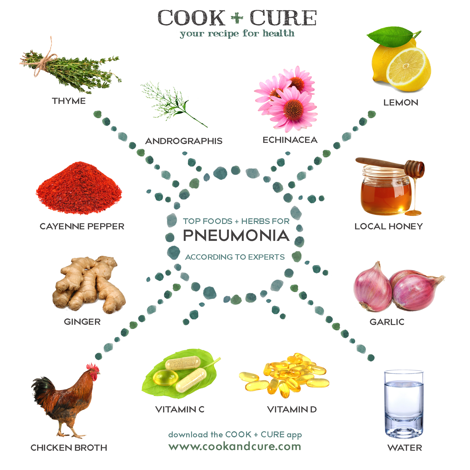 Best Foods + Herbs to Nip Pneumonia in the Bud | Cook + Cure